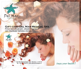 Del Mar Medical Spa are placerea sa va prezinte primul gift card reincarcabil